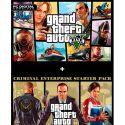 Grand Theft Auto V and Criminal Enterprise Starter Pack Bundle - PC - Rockstar Social