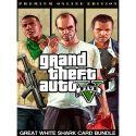 Grand Theft Auto V GTA 5 - Premium Online Edition & Great White Shark Card Bundle - PC - Rockstar Social