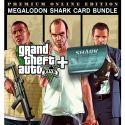 Grand Theft Auto V GTA 5 - Premium Online Edition & Megalodon Shark Card Bundle - XBOX ONE - DiGITAL