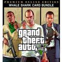 Grand Theft Auto V GTA 5 - Premium Online Edition & Whale Shark Card Bundle - PC - Rockstar Social