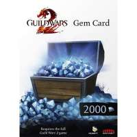 Guild Wars 2 2000 Gems Card