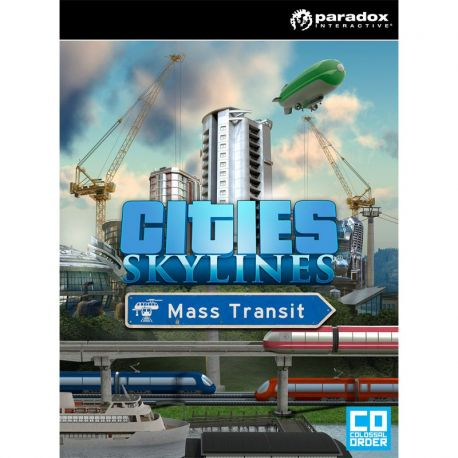 Cities: Skylines - Mass Transit - Hra na PC