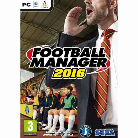 Hra na PC - Football Manager 2016