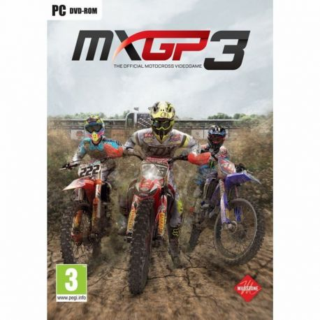 MXGP3: The Official Motocross Videogame - Hra na PC