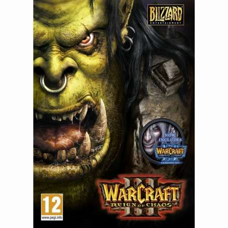 Warcraft 3 (Gold Edition inc. The Frozen Throne) - Hra na PC