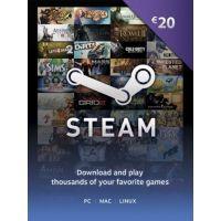 Steam Gift Card 20 €