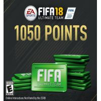 Fifa 18 - 1050 FUT Points - PC - Origin