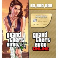 Grand Theft Auto V GTA + Whale Shark Cash Card