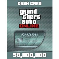 Grand Theft Auto V GTA: Megalodon Shark Cash Card - PC - Rockstar social