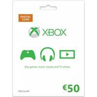 Microsoft Xbox Live předplacená karta 50 EUR