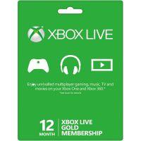 Microsoft Xbox Live Gold členství 12 měsíců