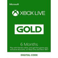 Xbox Live Gold - Členství 6 měsíců