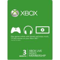 Xbox Live Gold - Členství 3 měsíce