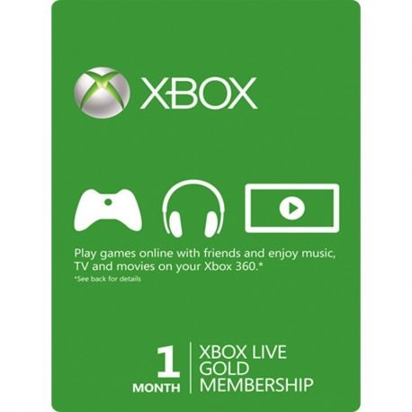 xbox-live-gold-clenstvi-1-mesic-kupon