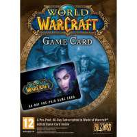 World of Warcraft 30-day time card
