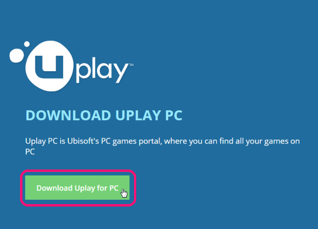 aktivace hry na pc - uplay