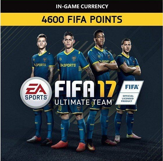 fifa 17 4600 fut points origin